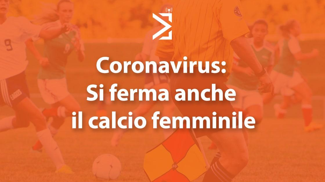 calcio femminile coronavirus