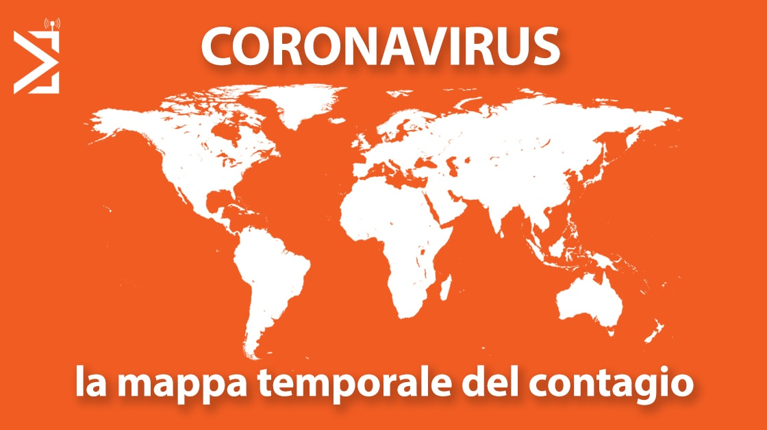mappa temporale coronavirus