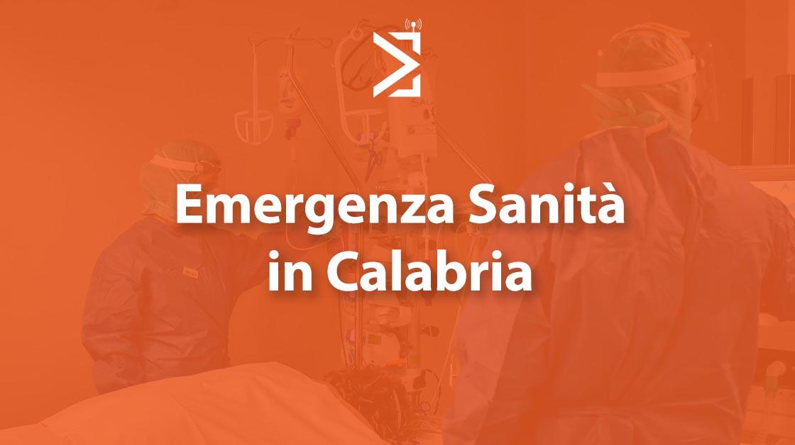 emergenza sanità calabria